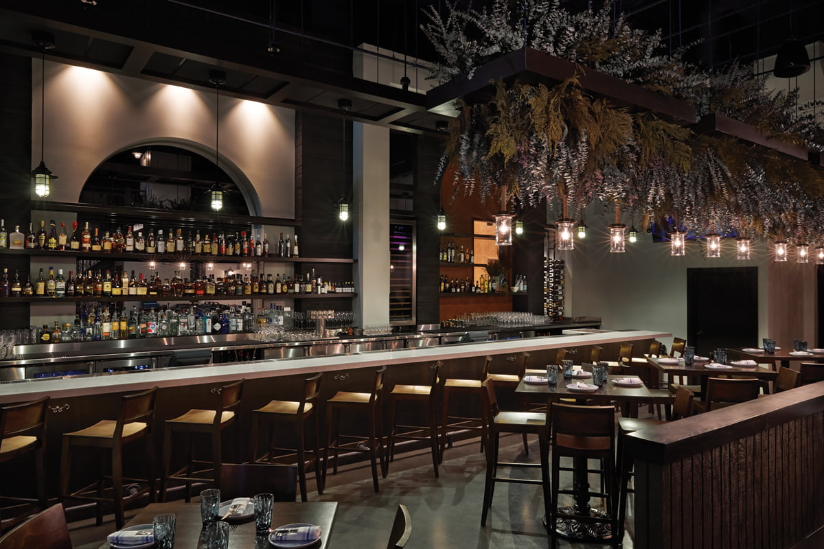 Kapnos Taverna, in Ballston. © Greg Powers